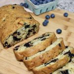 zucchini blueberry loaf