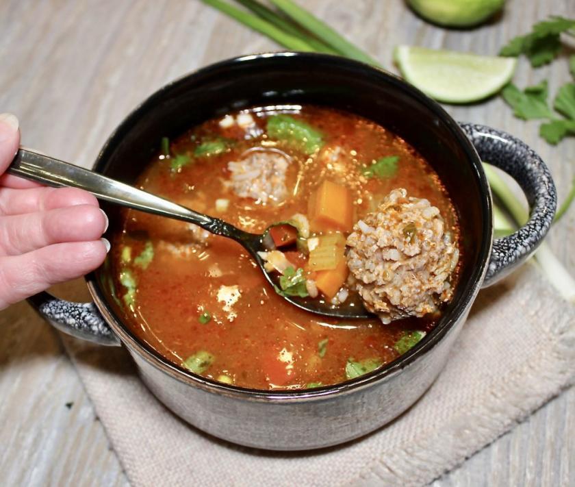 mexican meatball soup albondigas