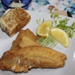 cornmeal crusted crappie