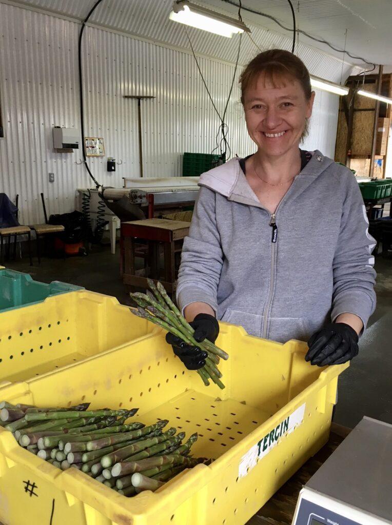 Lisa from JLK Asparagus Farms Norfolk County