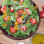 strawberry mandarin salad sweet onion vinaigrette