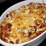 baked pasta with sausage and peppers