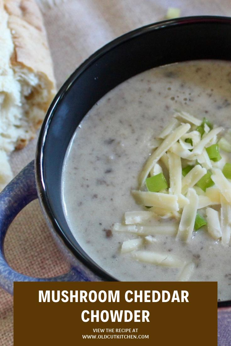 mushroom cheddar chowder soup mr greenjeans