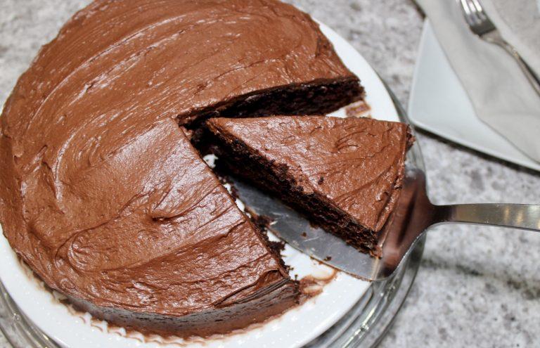 maritimer mint chocolate cake