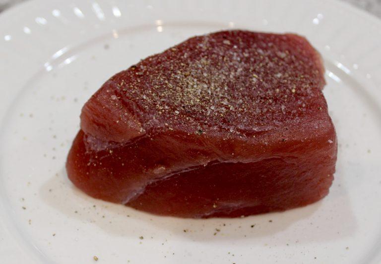 fresh tuna steak