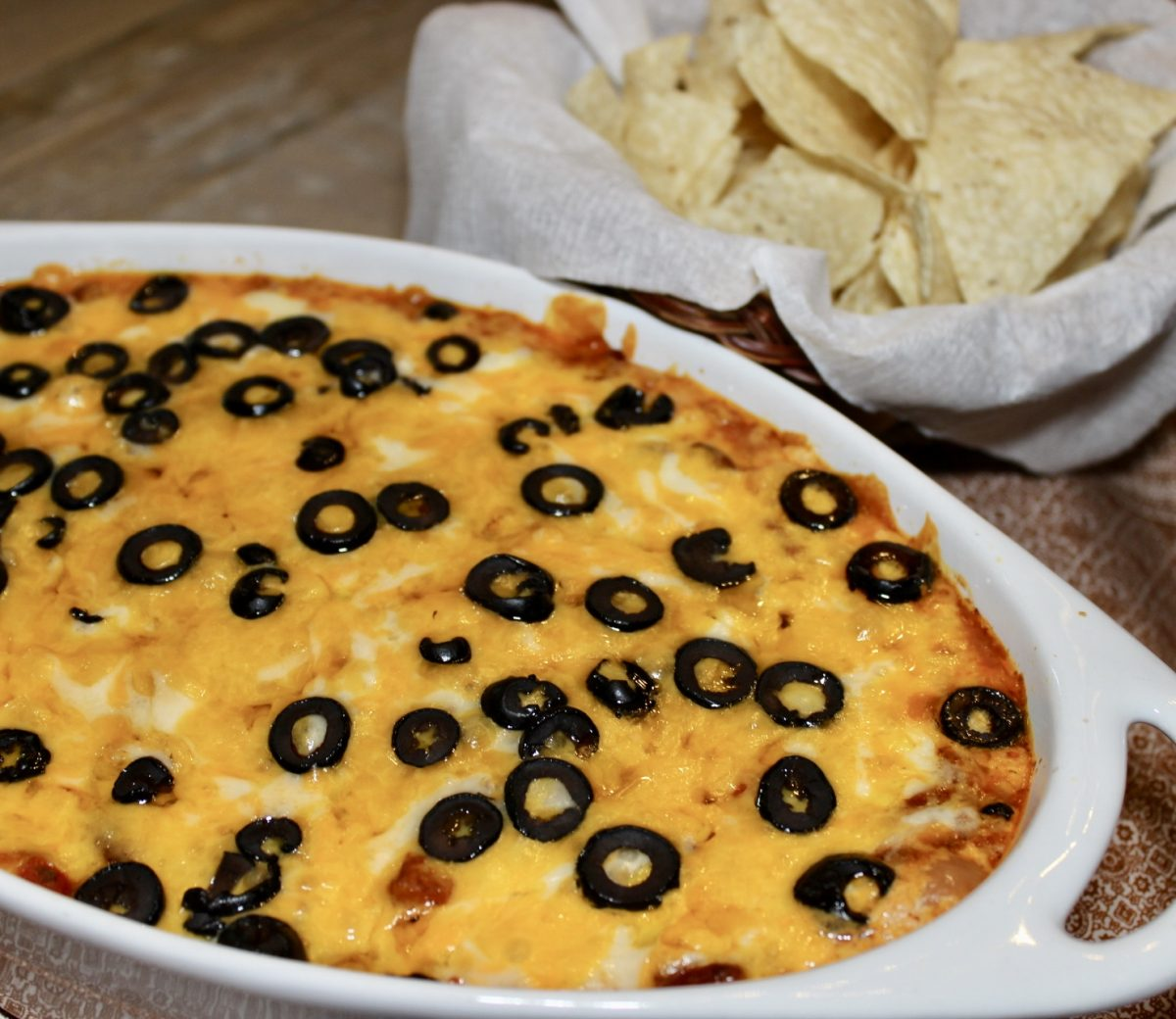 Hot Layered Mexican Dip