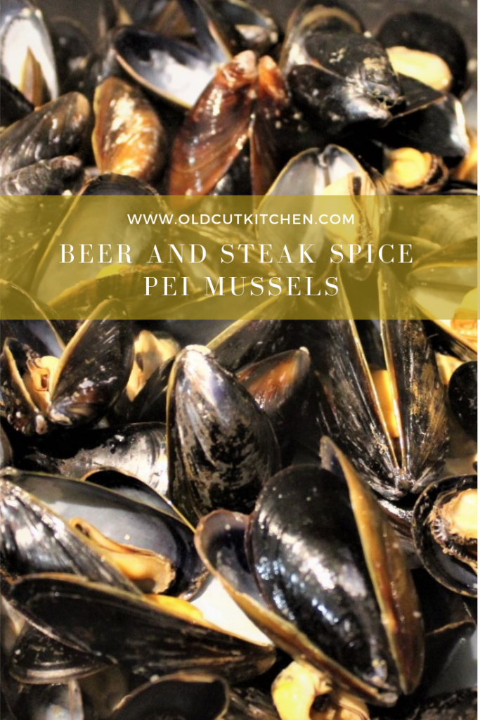 beer and steak spice mussels