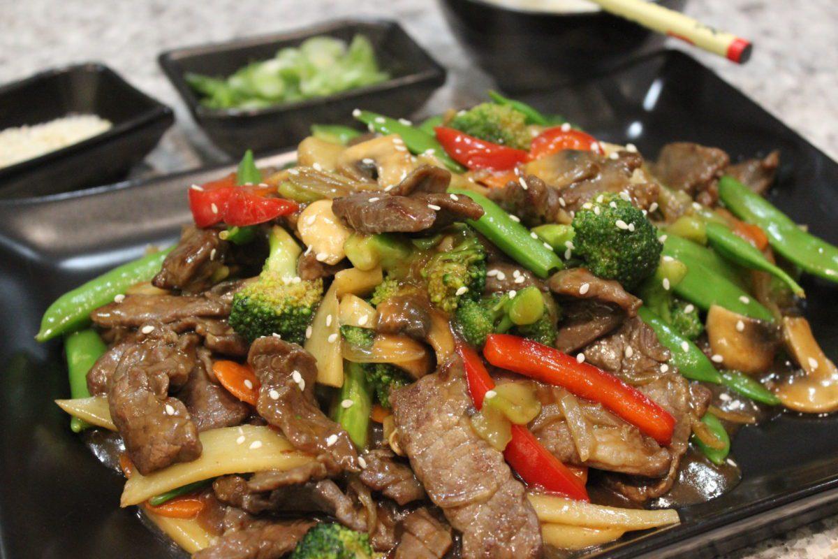 Beef Vegetable Stir Fry