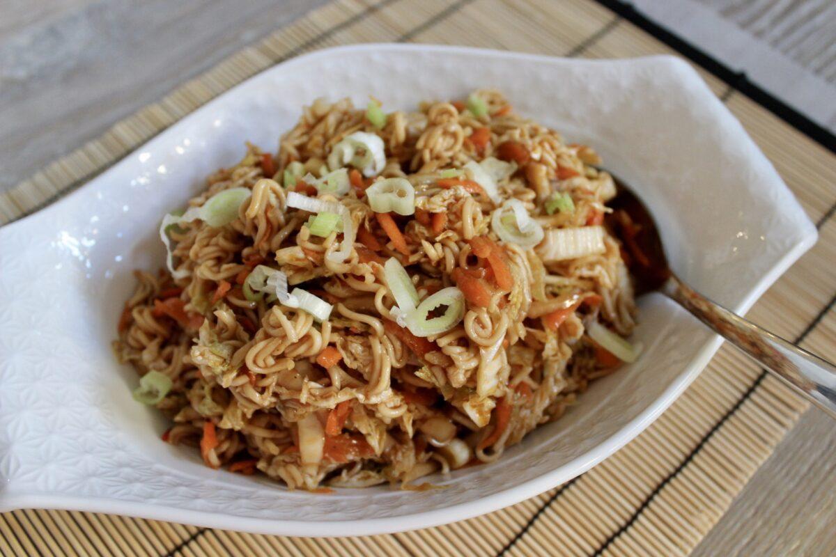 napa cabbage and ramen noodles salad recipe