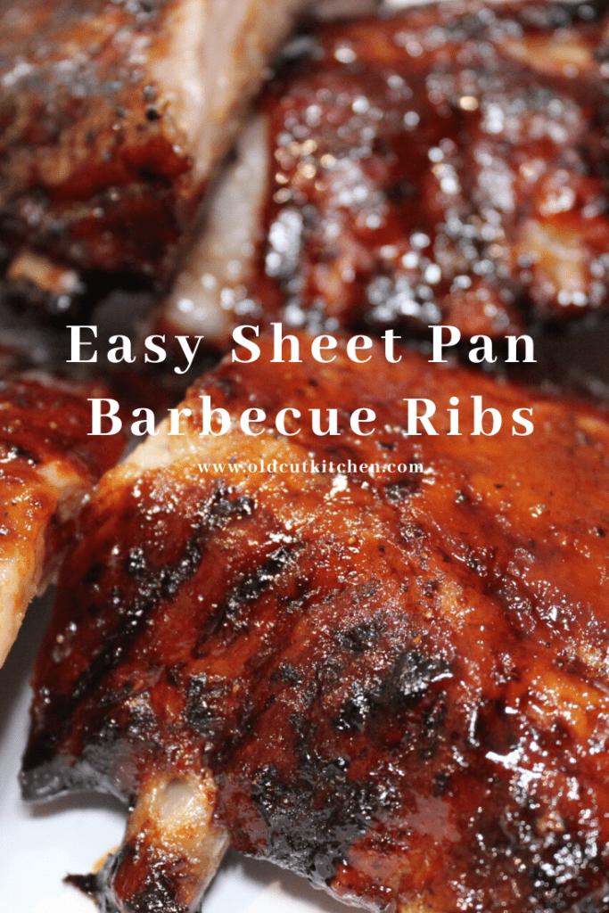sheet pan barbecue ribs