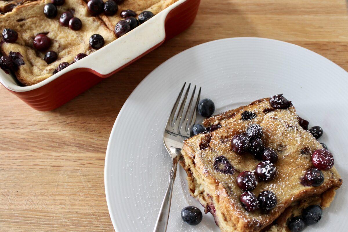 Cinnamon Raisin Baked Breakfast