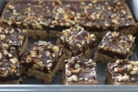 peanut butter chocolate crunch bars