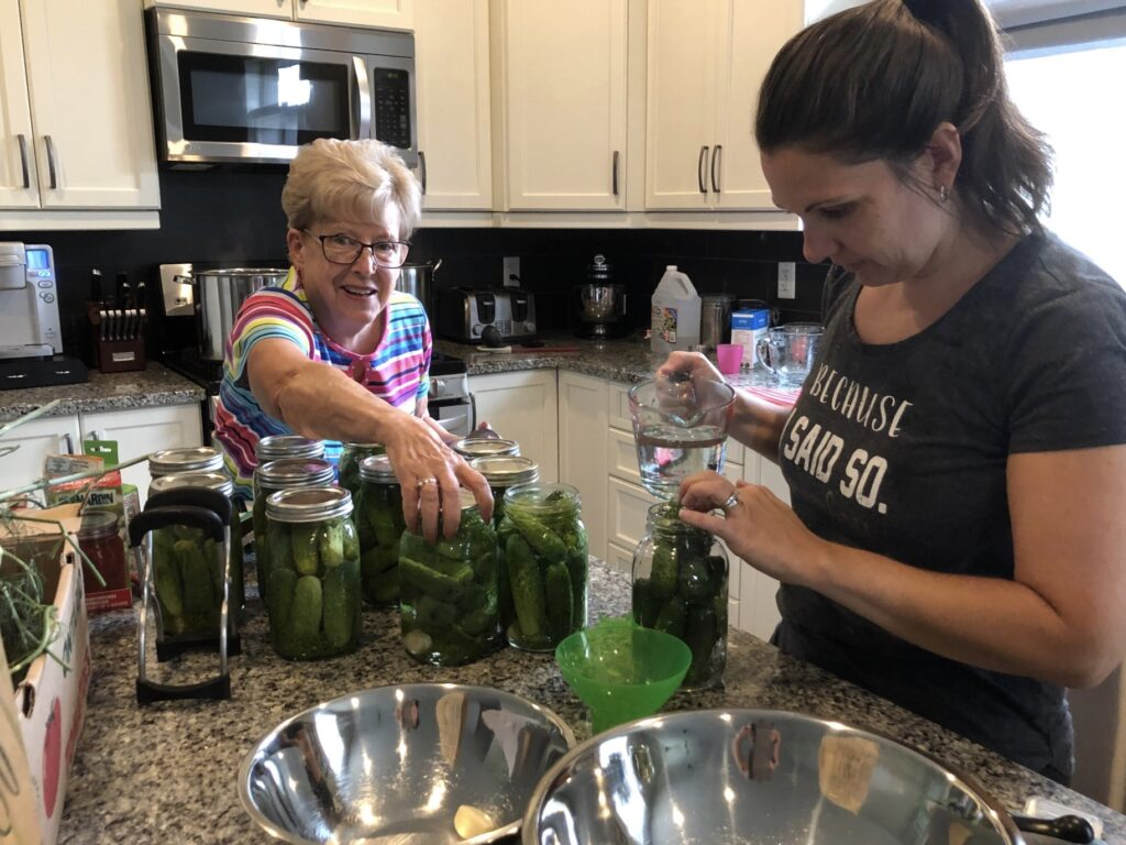 pickle making