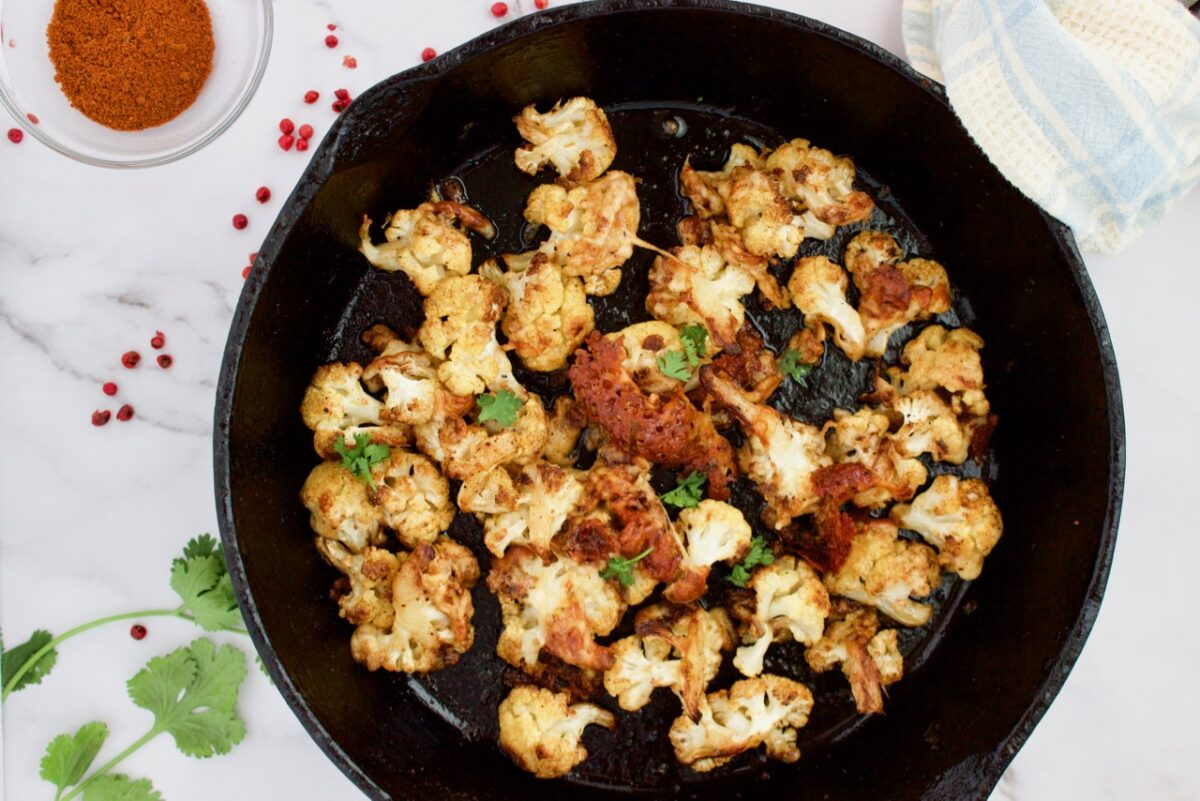 Chili Cheese Cauliflower