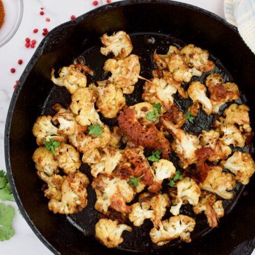 chili cheese cauliflower